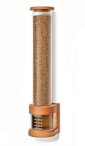 KoMo Einkammer Getreidespeicher Buche Multiplex , Plexiglas,für 2,5kg